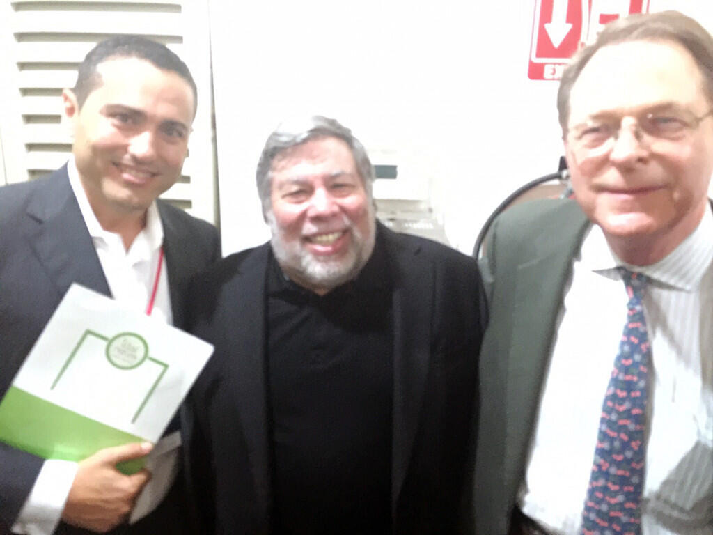 Carlos con Wonziak y Morse