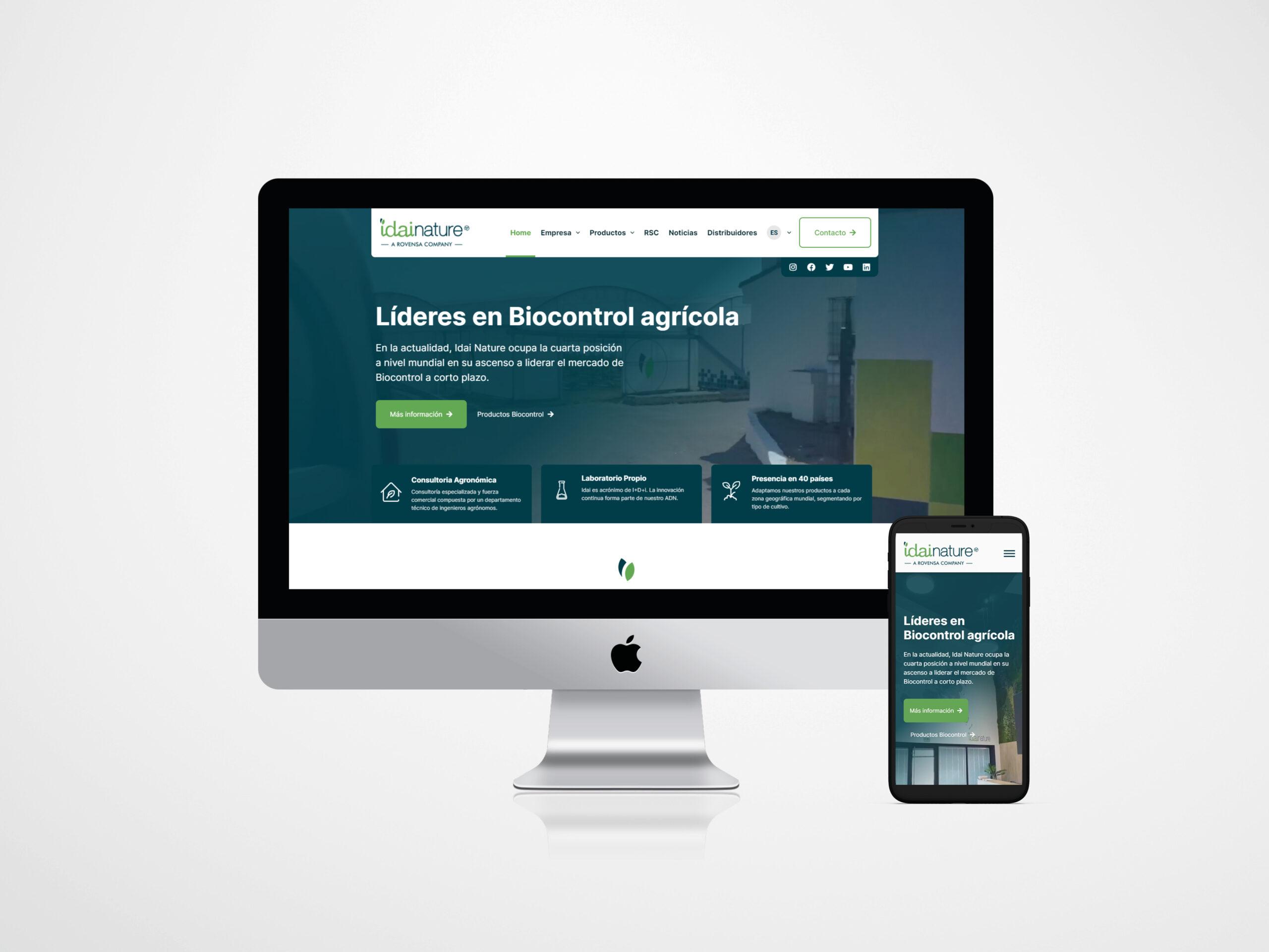 Idai Nature lanza nueva web